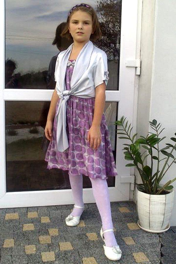 Sukienki wizytowe dziewczęce